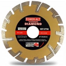 Dimanta slīpēšanas disks betona, ķieģeļu, bruģakmens, gāzbetona, keramisko flīžu apstrādei 125mm