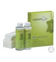 Набор для чистки некрашенной (анилиновой) натуральной кожи KERALUX Care set A 2x200ml