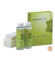 Набор для чистки натуральной седельной (восковой) кожи KERALUX Care set S 2x200ml