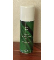 Top finish  spray for leather furniture color surface strengthening, mat, 200ml