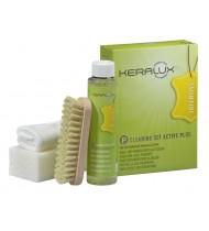 Keralux Cleaning Set Active Plus P (250ml, cloth, brush)